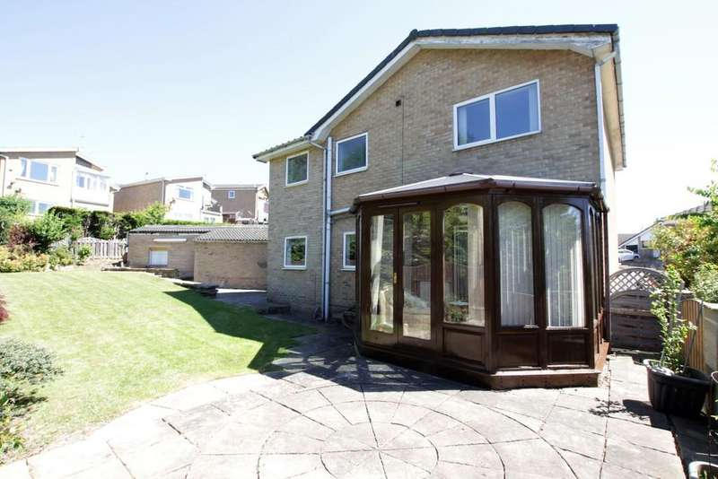 4 Bedrooms Detached House for sale in Merlin Court, Batley