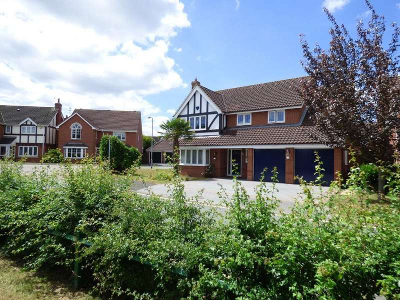 5 Bedrooms Detached House for sale in Bailye Close, Streethay, Lichfield