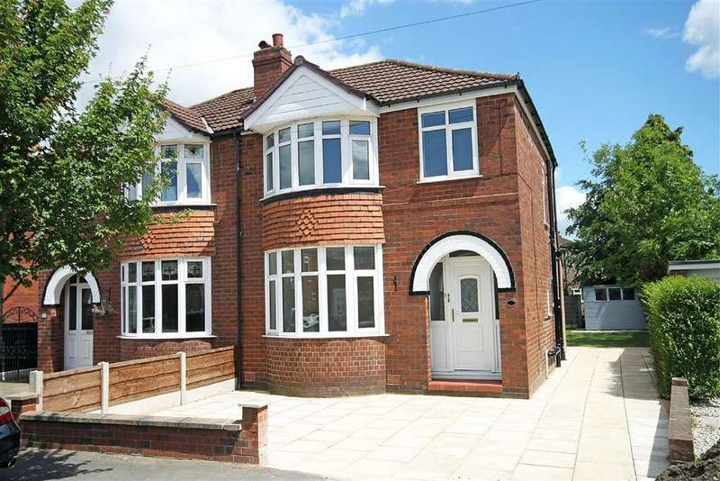 3 Bedrooms Semi Detached House for sale in Bedford Drive, Timperley, Cheshire