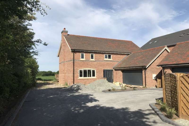 5 Bedrooms Detached House for sale in Chester Road, Nomans Heath, Malpas, SY14