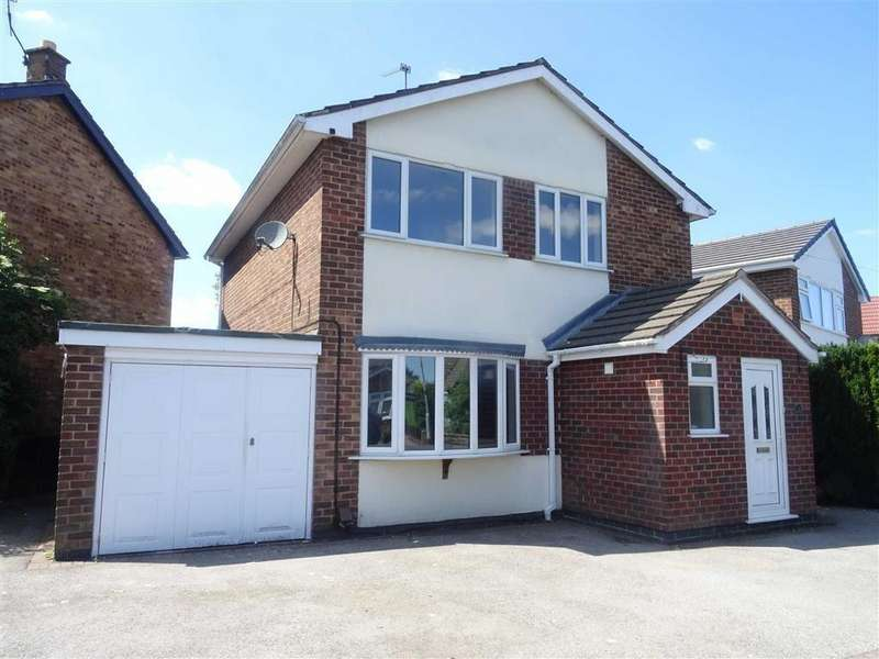 3 Bedrooms Detached House for sale in Chesterfield Way, Barwell