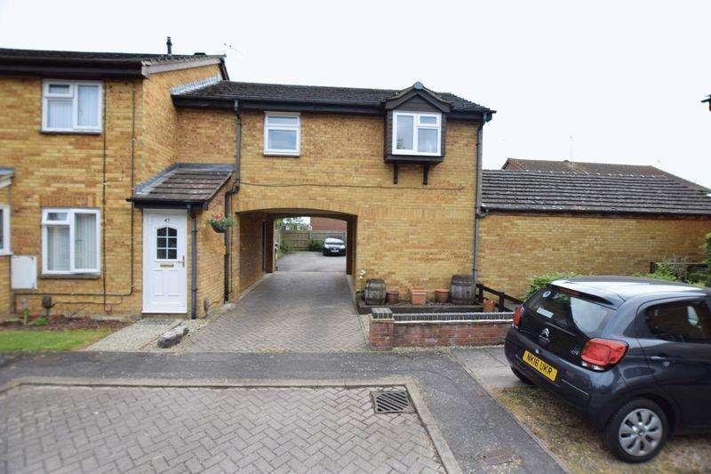 1 Bedroom Coach House Flat for sale in Meadow Way, Aylesbury