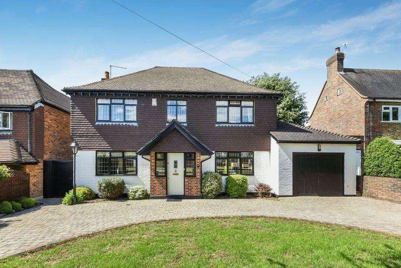 4 Bedrooms Detached House for sale in SOUTH CHEAM
