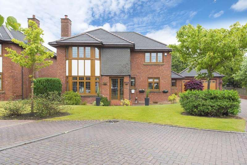 4 Bedrooms Detached Villa House for sale in 12 Grenadier Park, Cambuslang, Glasgow, G72 8EP