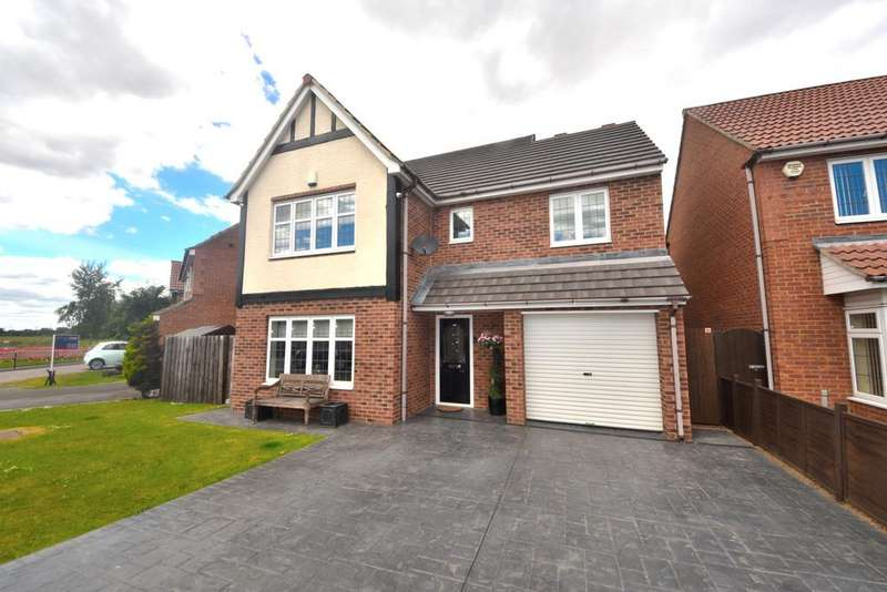 4 Bedrooms Detached House for sale in Whitstable Gardens, Redcar TS10