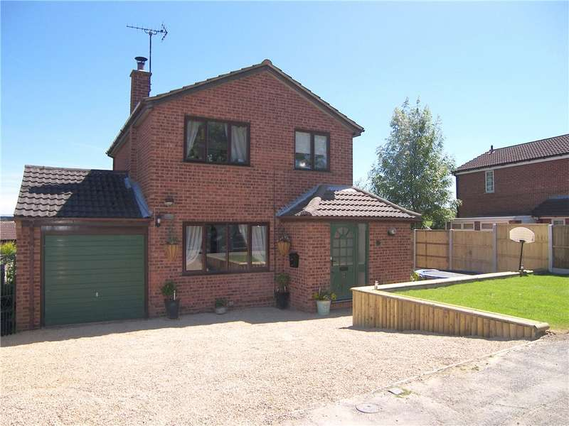 3 Bedrooms Detached House for sale in Erica Drive, South Normanton, Alfreton, Derbyshire, DE55