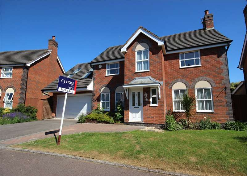 5 Bedrooms Detached House for sale in Pursey Drive Bradley Stoke Bristol BS32