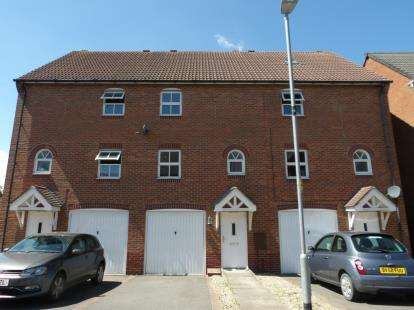 3 Bedrooms Terraced House for sale in Staples Drive, Coalville