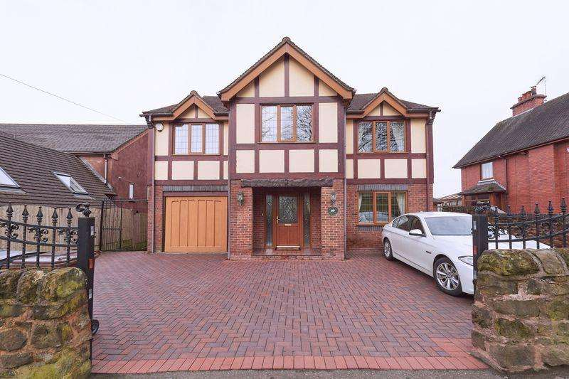 5 Bedrooms Detached House for sale in Leek Road, Wetley Rocks, Stoke-on-Trent, ST9