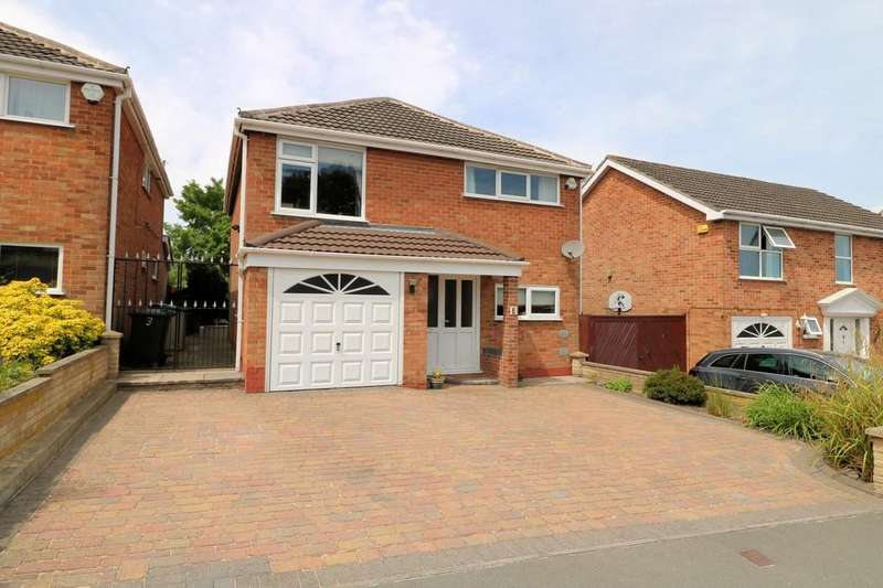 4 Bedrooms Detached House for sale in Marlborough Way, Ashby-de-la-Zouch