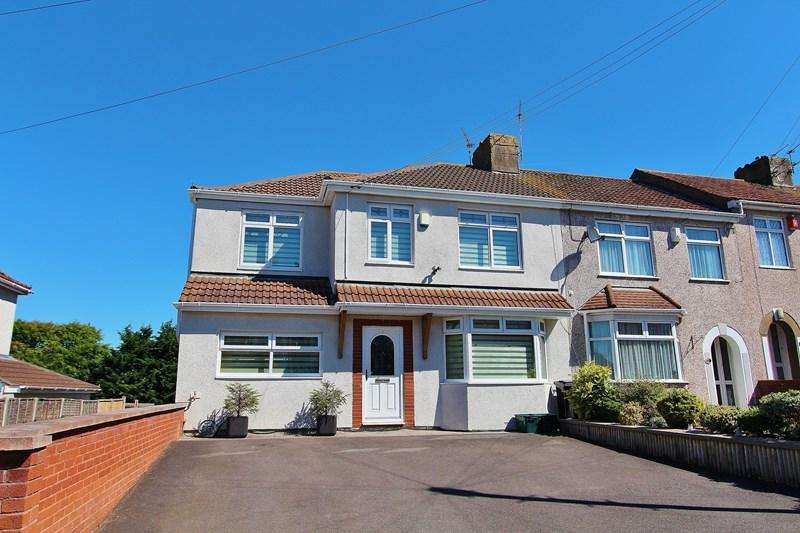 4 Bedrooms End Of Terrace House for sale in Saltwell Avenue, Whitchurch, Bristol