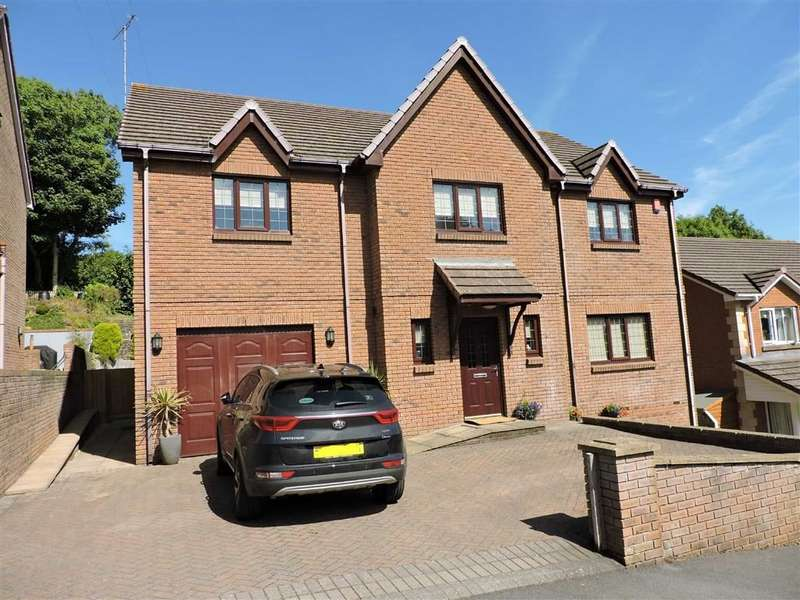 5 Bedrooms Detached House for sale in Cae Ffynnon, Ferry Road, Kidwelly