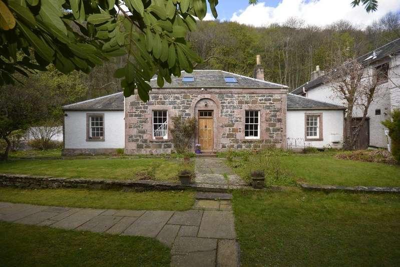 4 Bedrooms Cottage House for sale in Woodhill Cottage, Woodland Park, Alva, Stirling, FK12 5HU