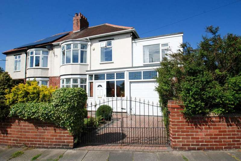 4 Bedrooms Semi Detached House for sale in Holmfield Avenue, South Shields