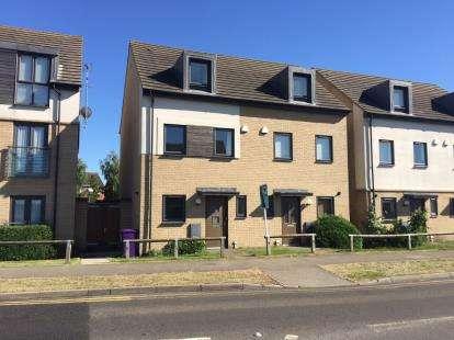 3 Bedrooms Semi Detached House for sale in Clothall Corner, Baldock, Hertfordshire, England