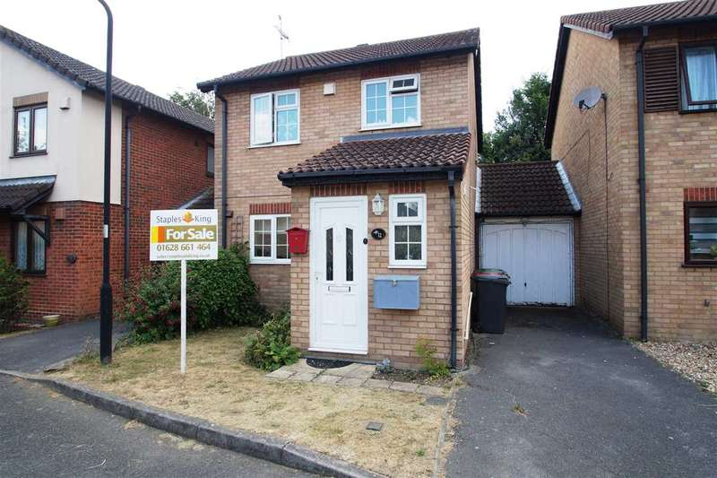 3 Bedrooms Detached House for sale in Garnet Close, Windsor Meadows, Cippenham