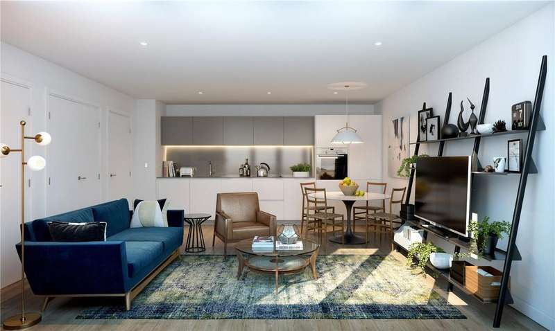 3 Bedrooms Apartment Flat for sale in Bond House, Goodwood Road, New Cross Gate, London, SE14