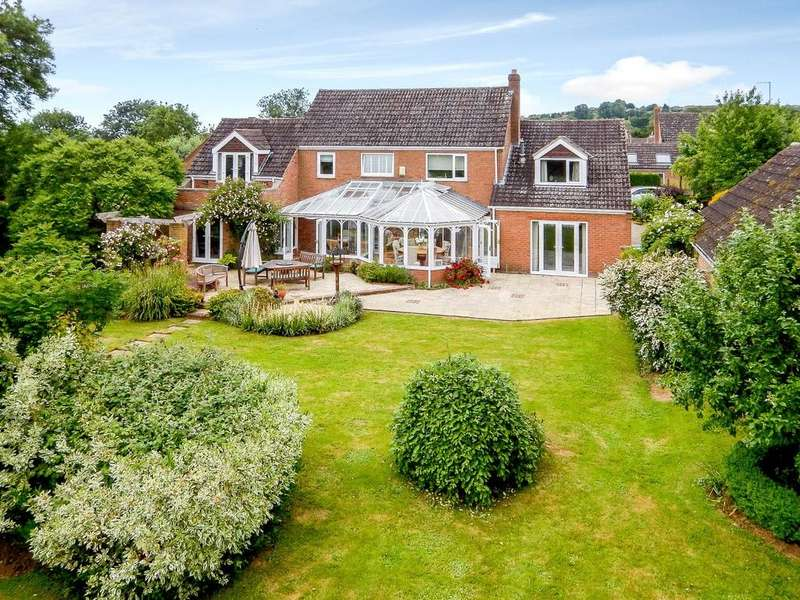 4 Bedrooms Detached House for sale in Ashley Road, Middleton, Market Harborough, Leicestershire
