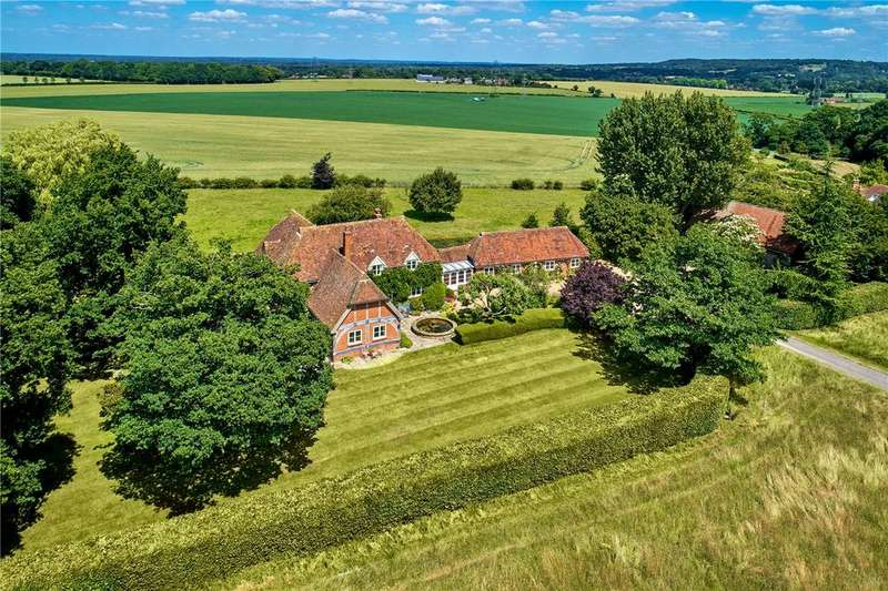 5 Bedrooms Detached House for sale in Lower Swanthorpe, Crondall, Farnham, Hampshire
