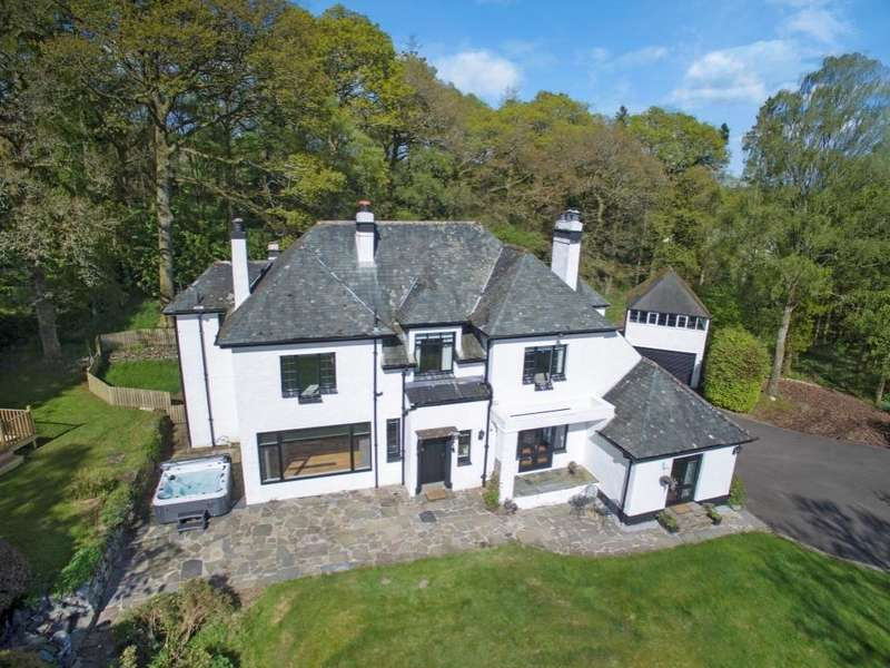 5 Bedrooms Detached House for sale in Mid Shandon Coldrach Farm Road, Drymen, G63 0EA