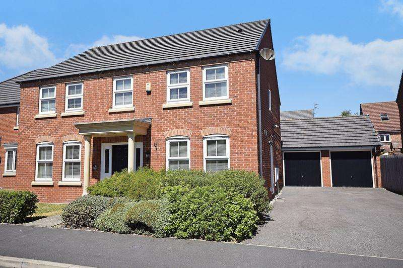 4 Bedrooms Detached House for sale in Maisemore Fields, Widnes