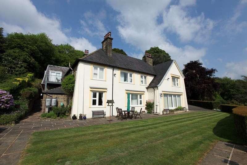5 Bedrooms Detached House for sale in The Winnatts, Darley Hillside, Matlock, Derbyshire, DE4