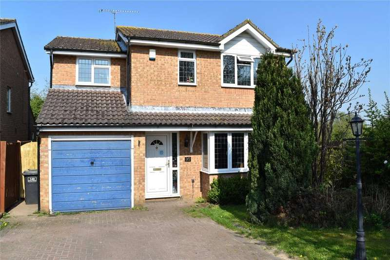 4 Bedrooms Detached House for sale in Marley Fields, Leighton Buzzard