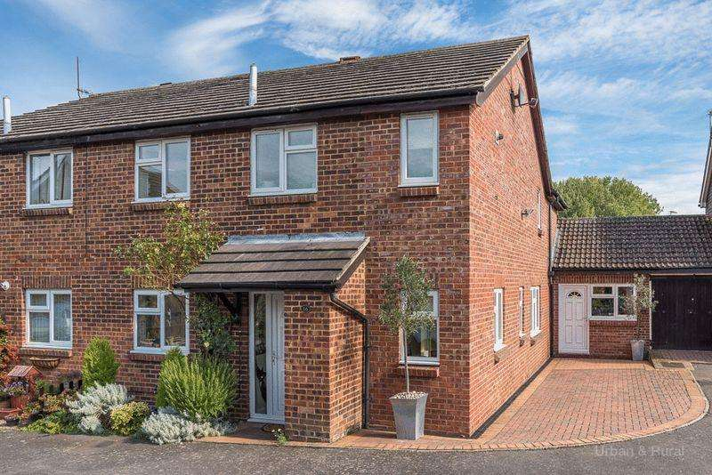 4 Bedrooms Semi Detached House for sale in Lagonda Close, Newport Pagnell