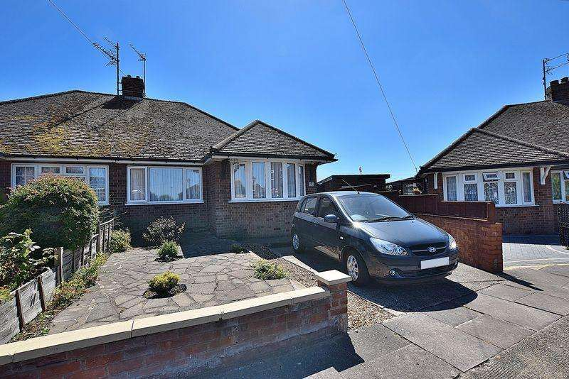 2 Bedrooms Semi Detached Bungalow for sale in Ludun Close, East Dunstable