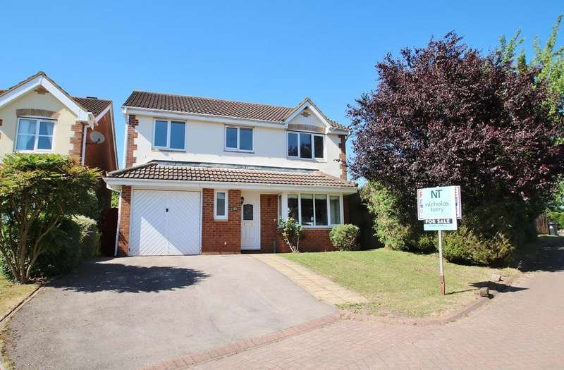 4 Bedrooms Detached House for sale in Juno Drive, Lydney, GL15
