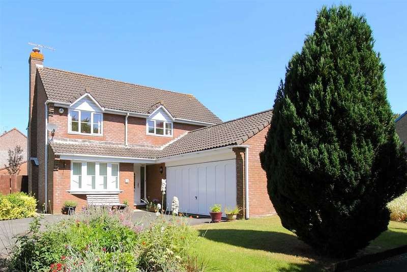 4 Bedrooms Detached House for sale in Manor Bridge Court, Tidworth
