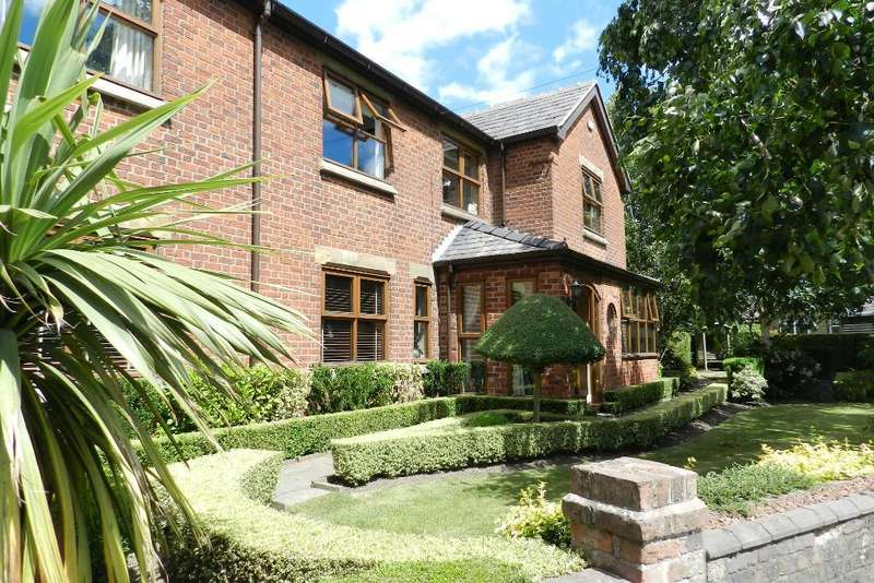 5 Bedrooms Detached House for sale in Heath Lane, Croft, Warrington, Cheshire, WA3 7DS