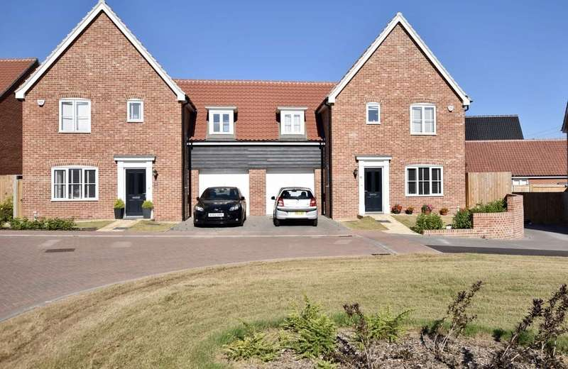 3 Bedrooms Semi Detached House for sale in Daisy Drive, Leiston