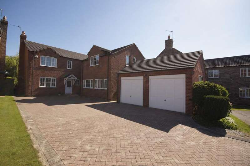 5 Bedrooms Detached House for sale in Bishop Close, Dunholme, Lincoln