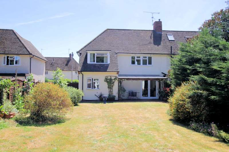 3 Bedrooms Semi Detached House for sale in Bourne Road, Pangbourne, Reading, RG8