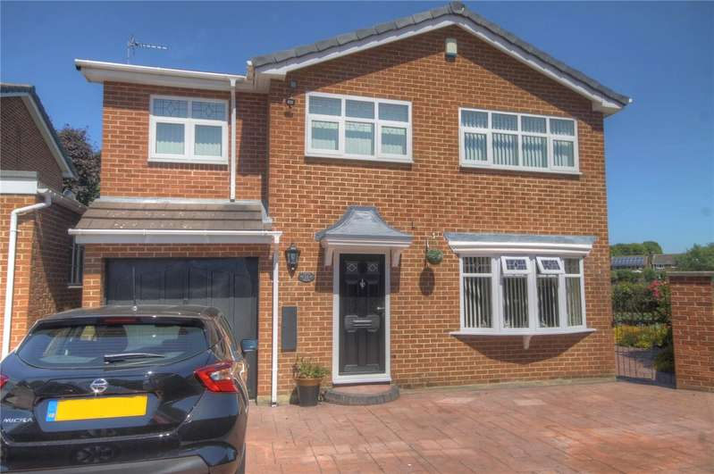 4 Bedrooms Detached House for sale in Exeter Drive, Darlington, DL1