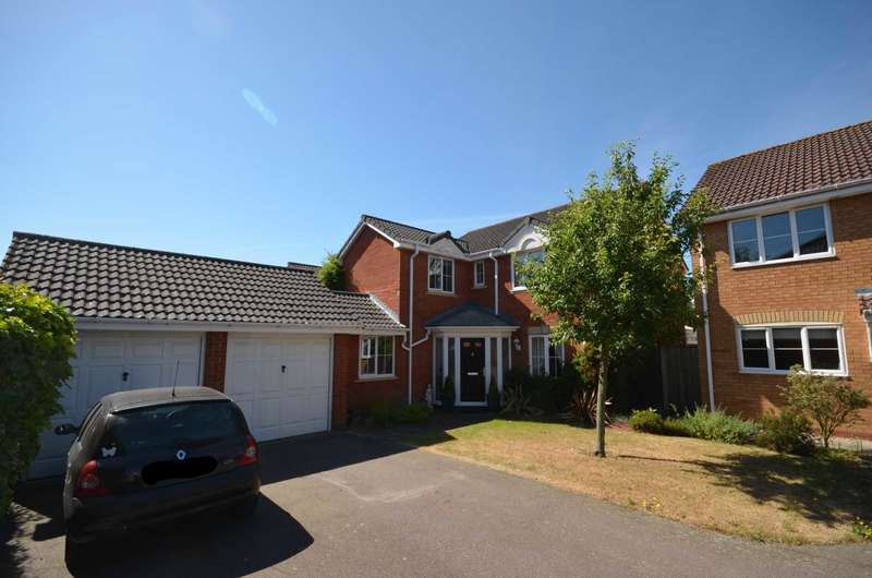 4 Bedrooms Detached House for sale in Dragoon Close, Norwich