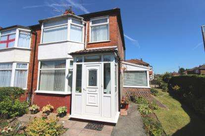 2 Bedrooms Semi Detached House for sale in St. Davids Road, Cheadle, Cheshire, .