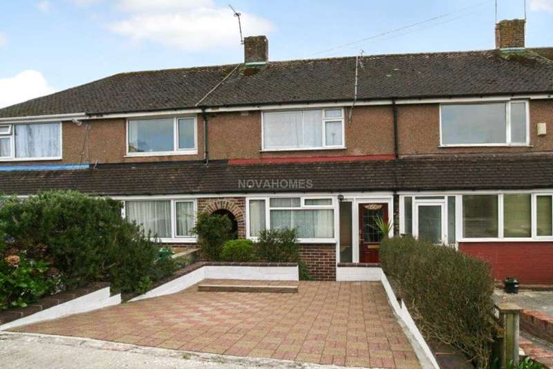 2 Bedrooms Terraced House for sale in Vicarage Gardens, St Budeaux, PL5 1LJ
