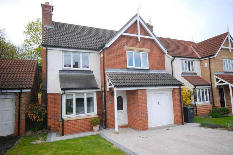 4 Bedrooms Detached House for sale in Whites Gardens, Hebburn