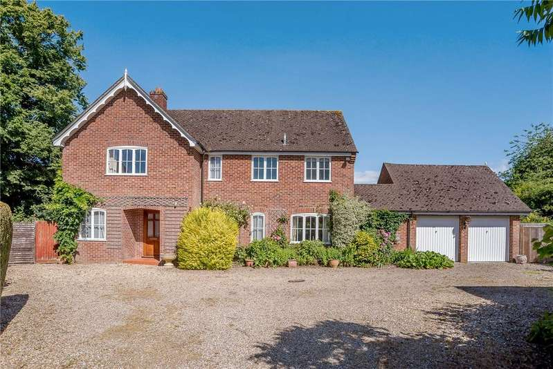4 Bedrooms Detached House for sale in Heathfields, Chieveley, Newbury, Berkshire, RG20