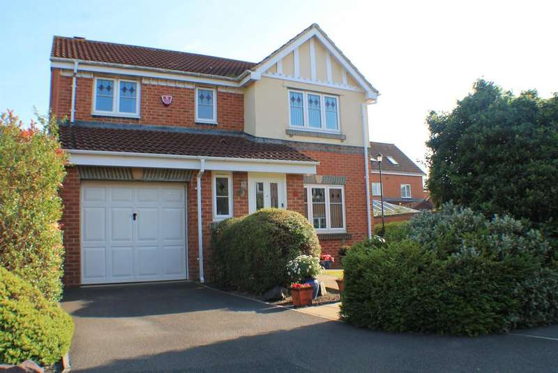 4 Bedrooms Detached House for sale in The Bramleys, Portishead, North Somerset, BS20 7LL