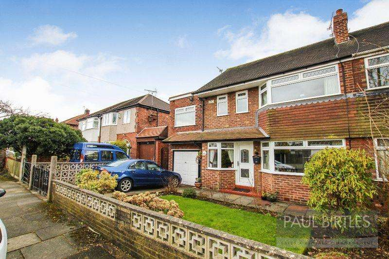 4 Bedrooms Semi Detached House for sale in Cumberland Road, Manchester