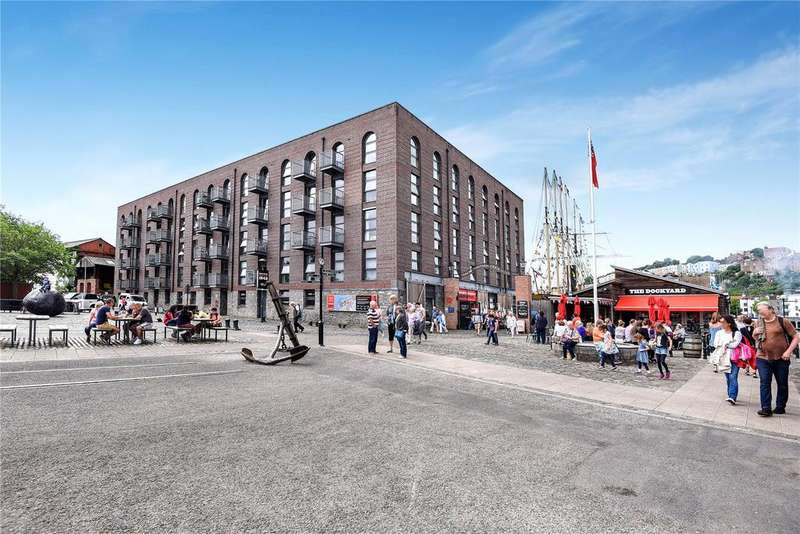 1 Bedroom Apartment Flat for sale in Steamship House, Gas Ferry Road, Bristol, Somerset, BS1