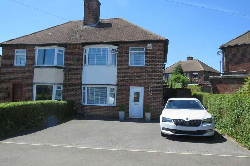 3 Bedrooms Semi Detached House for sale in Rosser Avenue, Charnock, Sheffield, S12 3LL