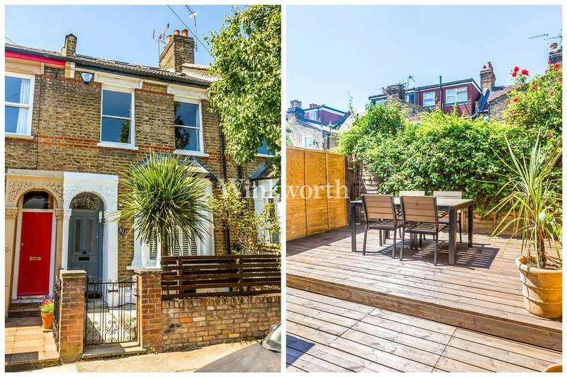 4 Bedrooms Terraced House for sale in Station Crescent, Harringay, N15