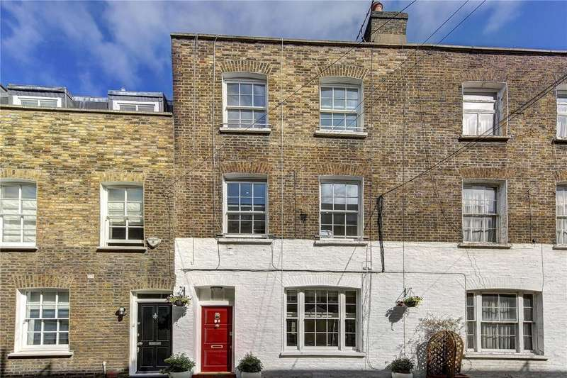 3 Bedrooms Terraced House for sale in Charles Lane, St. Johns Wood, London, NW8
