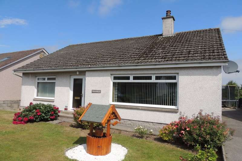 3 Bedrooms Detached Bungalow for sale in Pinewood Road, Mosstodloch, Fochabers, IV32