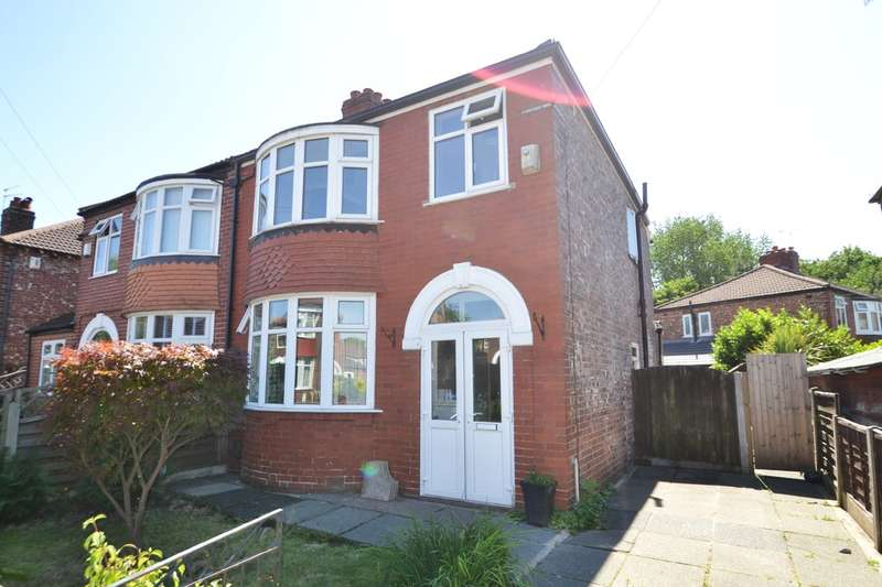 3 Bedrooms Semi Detached House for sale in Kenilworth Road, Stockport