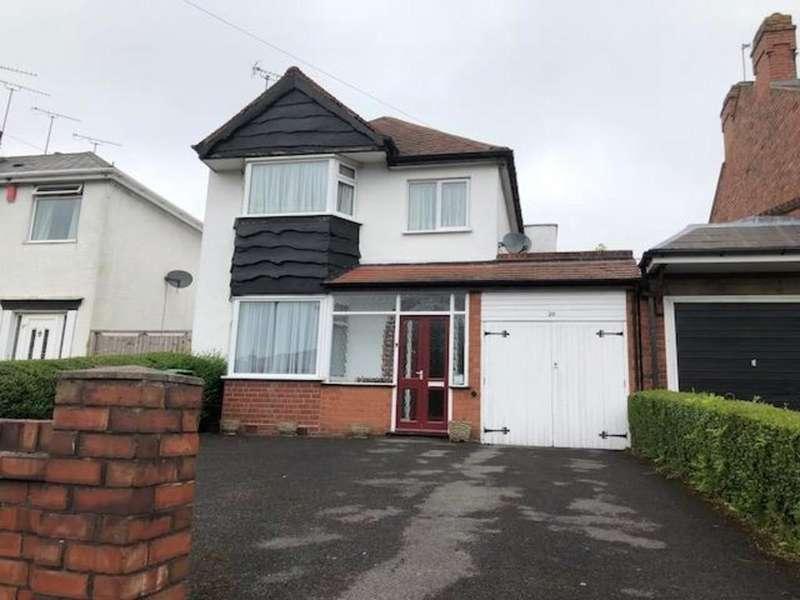 3 Bedrooms Link Detached House for sale in Sunnybank Road, Oldbury